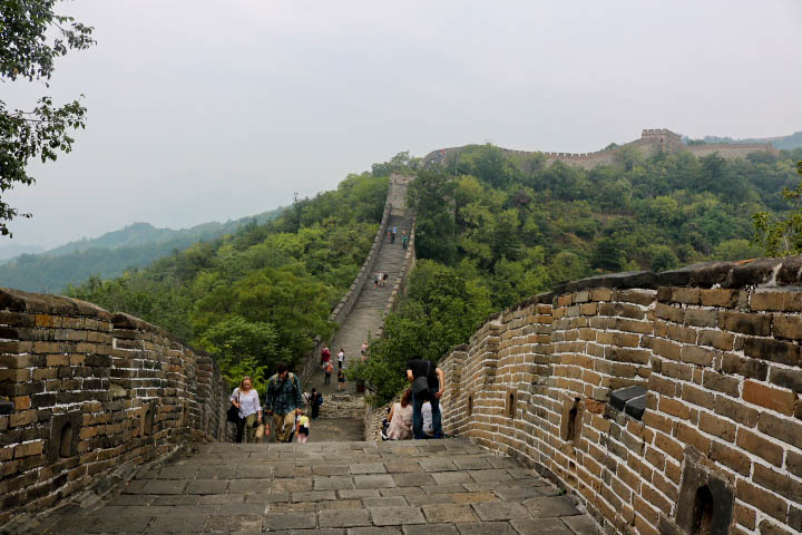 Montée de la grande muraille