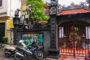 Balade rues Hanoi