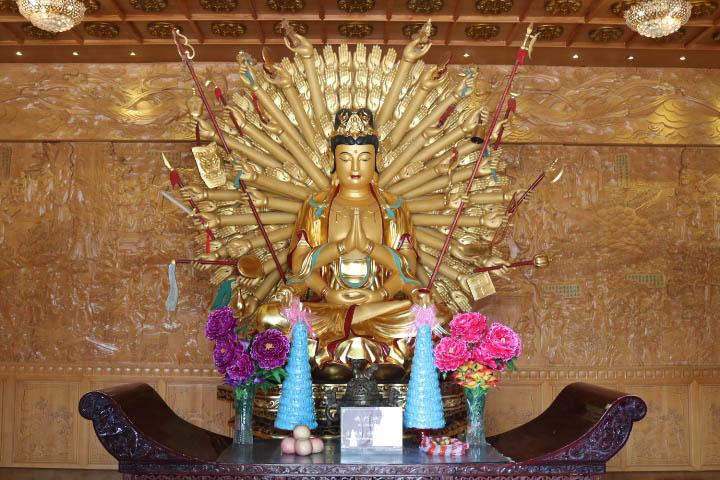 Bouddha Grande Pagode de l'Oie Sauvage Xi'An