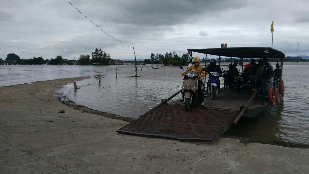 Traversée bateau Ninh Binh