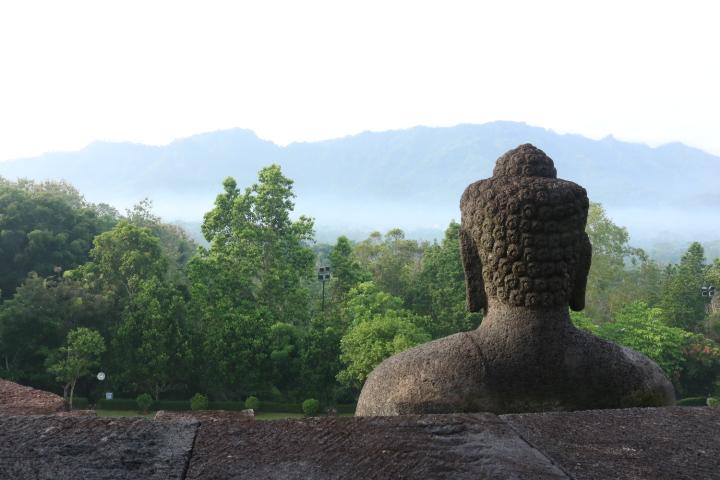 Bouddha Borobudur